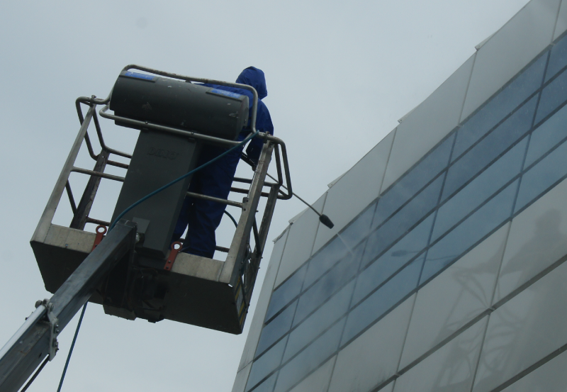 fasadevask renhold Kristiansand